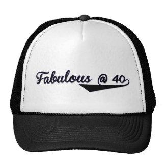Fabulous @ 40 trucker hat