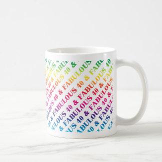 Fabulous 40th Birthday Party Mug