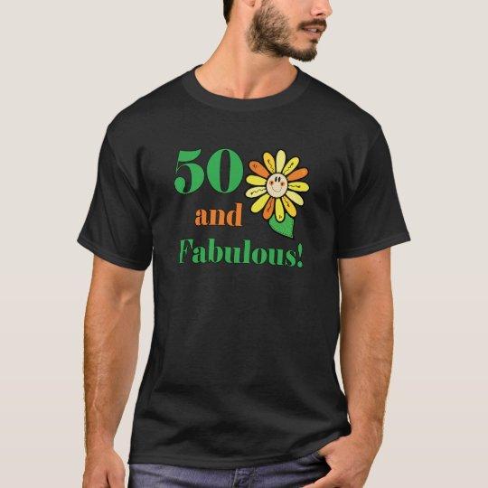 Fabulous 50th Birthday Gifts T-Shirt