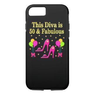 FABULOUS 50TH FASHION SHOE QUEEN DESIGN iPhone 8/7 CASE