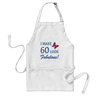 Fabulous 60th Birthday Gifts For Women Standard Apron