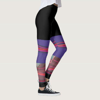 Fabulous action leggings with city lights