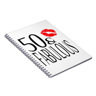Fabulous and Fifty Notebook