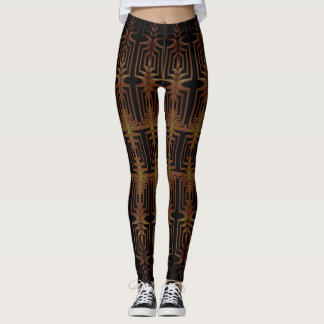 Fabulous Art Deco Geometric Leggings