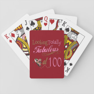 Fabulous at 100 Years Old Card Deck