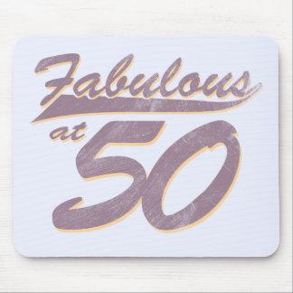 Fabulous at 50 Birthday Mousepads