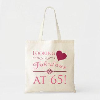 Fabulous At 65 Budget Tote Bag