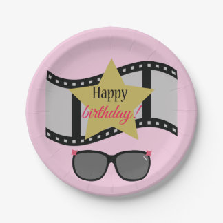 Fabulous Birthday Paper Plate