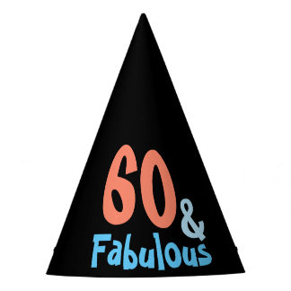 Fabulous Black Birthday Party Party Hat