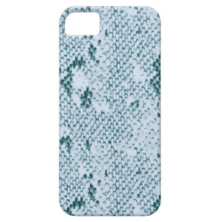 Fabulous Blue and White Snakeskin iPhone 5 Cover
