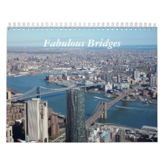Fabulous Bridges Calendar