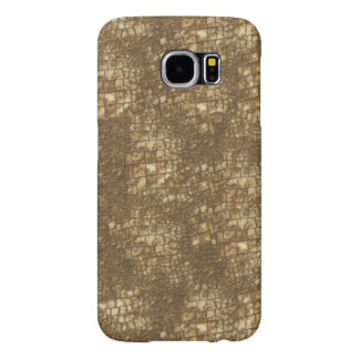 Fabulous Brown Snakeskin Pattern Samsung Galaxy S6 Cases