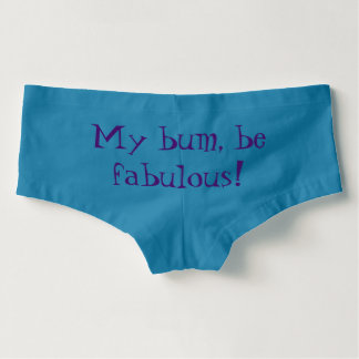 Fabulous Bum Panties! Boyshorts