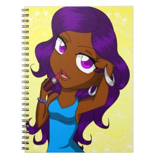 """Fabulous!"" Chibi/Anime Notebook"