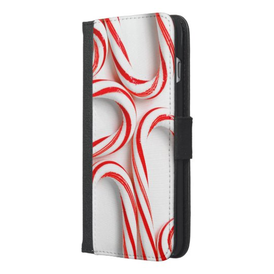 Fabulous Christmas Candy Canes iPhone 6/6s Plus Wallet Case