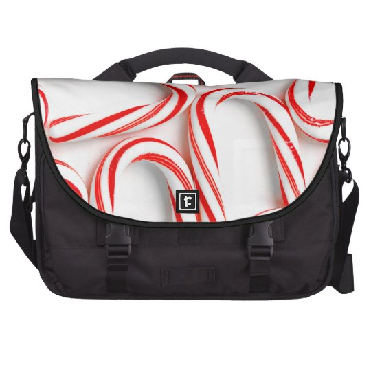 Fabulous Christmas Candy Canes Laptop Computer Bag