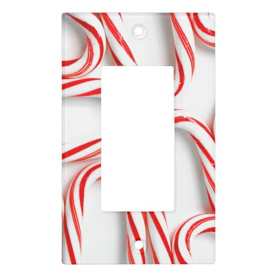 Fabulous Christmas Candy Canes Light Switch Cover