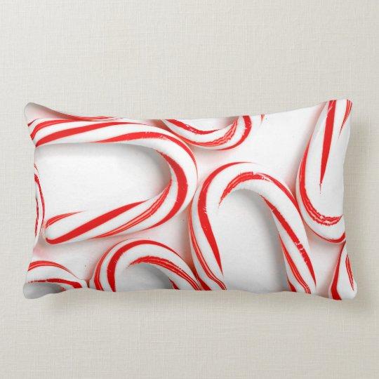 Fabulous Christmas Candy Canes Lumbar Pillow