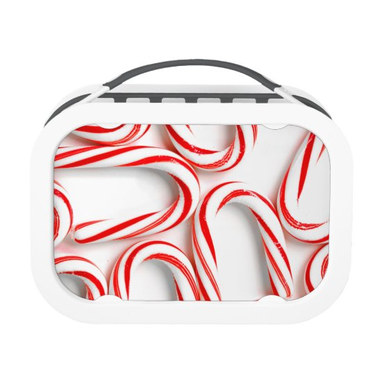 Fabulous Christmas Candy Canes Lunch Box