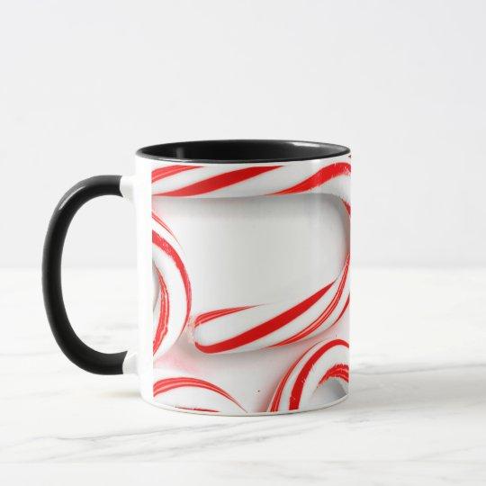 Fabulous Christmas Candy Canes Mug