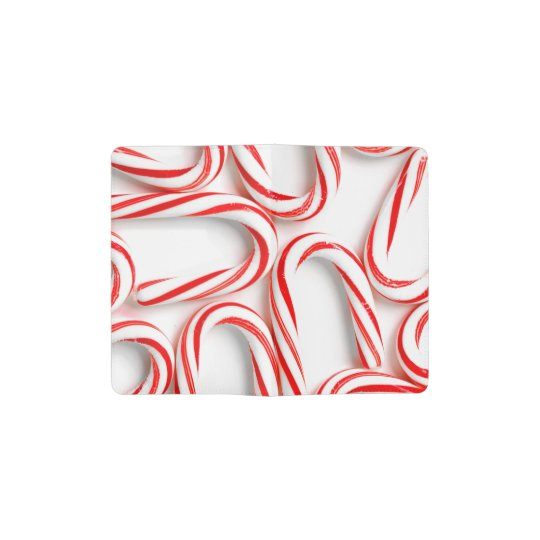 Fabulous Christmas Candy Canes Pocket Moleskine Notebook