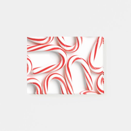 Fabulous Christmas Candy Canes Post-it Notes
