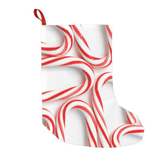 Fabulous Christmas Candy Canes Small Christmas Stocking