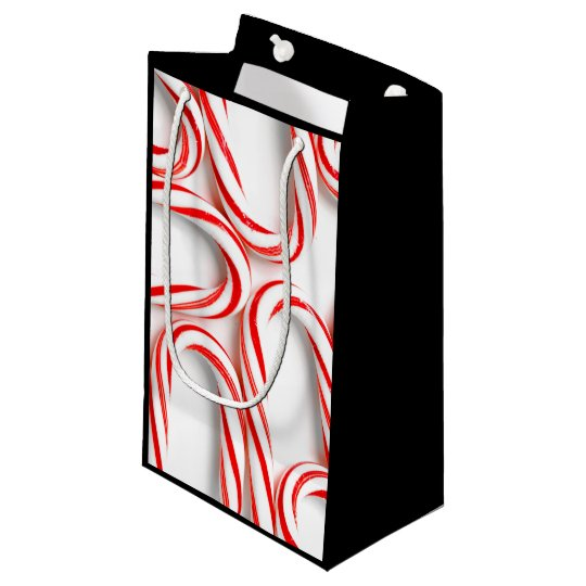 Fabulous Christmas Candy Canes Small Gift Bag