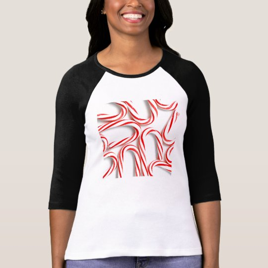 Fabulous Christmas Candy Canes T-Shirt