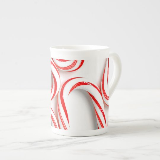 Fabulous Christmas Candy Canes Tea Cup
