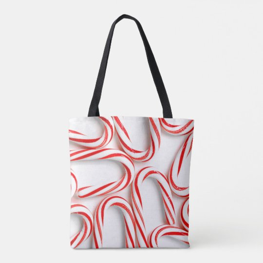 Fabulous Christmas Candy Canes Tote Bag