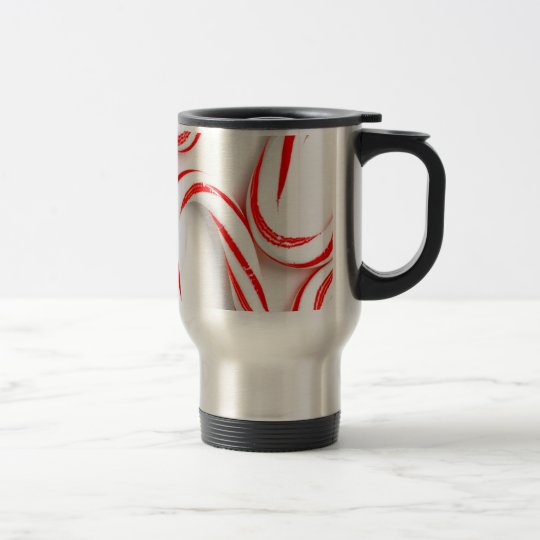 Fabulous Christmas Candy Canes Travel Mug