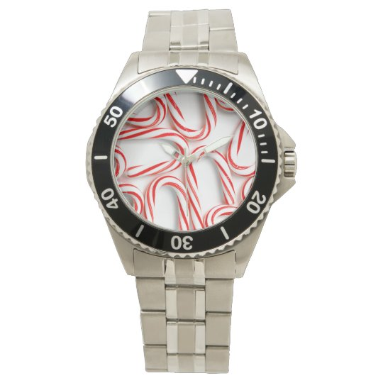 Fabulous Christmas Candy Canes Watch