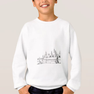 fabulous city . artwork . black and white sweatshirt