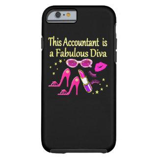 FABULOUS DIVA ACCOUNTANT DIVA TOUGH iPhone 6 CASE