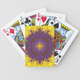 Fabulous Fantasy Flower Bicycle Playing Cards