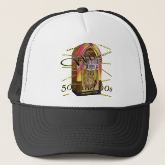 Fabulous fifties juke box trucker hat