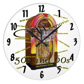 Fabulous fifties jukebox clock