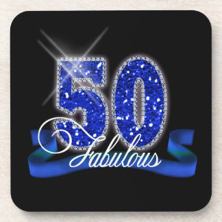 Fabulous Fifty Sparkle ID191 Coasters