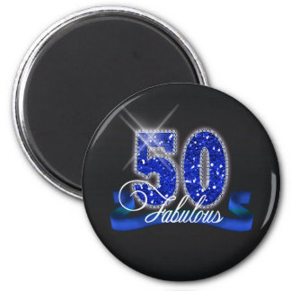 Fabulous Fifty Sparkle ID191 Magnet