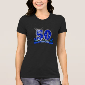 Fabulous Fifty Sparkle ID191 T-Shirt