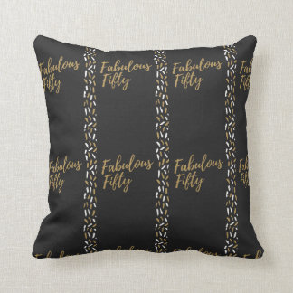 fabulous fifty throw pillow