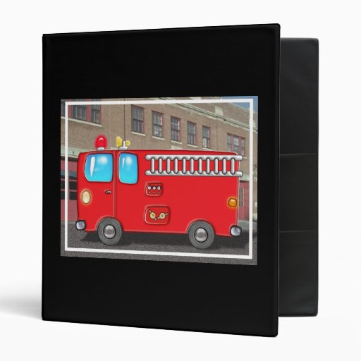 Fabulous Fire Truck and Fire Station Binder