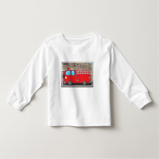 Fabulous Fire Truck and Fire Station Toddler T-shirt