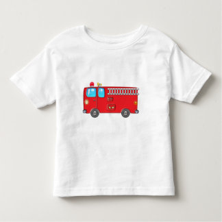 Fabulous Fire Truck Toddler T-shirt