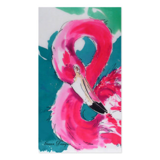 Fabulous Flamingo Business Cards