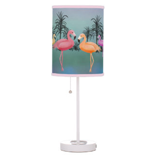 Fabulous Flamingos Table Lamp