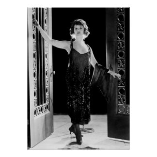 Fabulous Flapper Dress: 1920s Poster