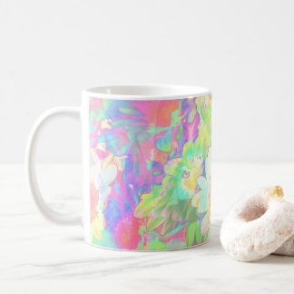 Fabulous Flowers Cheerful Bright Colored Daisies Coffee Mug