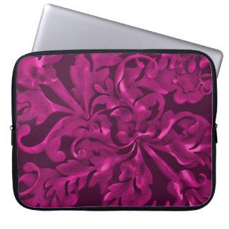 Fabulous Foliage Magenta Laptop Sleeve